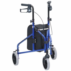 Drive Medical Ultralight Aluminium Triwalker (Blue)