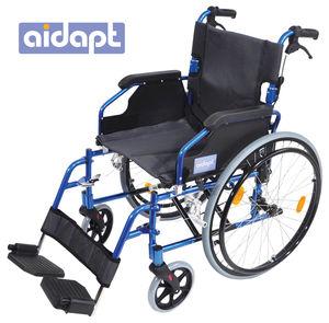 Aidapt Deluxe Lightweight Self Propelled Aluminium Wheelchair Blue - VA165BLUE