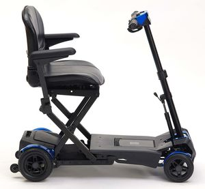 Drive Devilbiss Auto Fold 4 Wheel Mobility Scooter in Blue