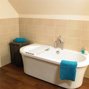 "Bath Board Savanah Slatted 26""/66Cm"