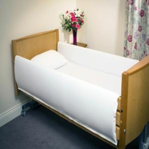 MRSA Resistant Bed Rail Protectors