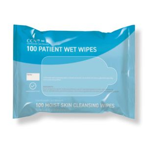 NCare 50 Patient Wet Wipes PH010