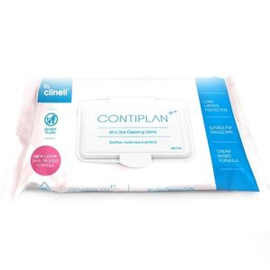 Contiplan Continence Wipes 25