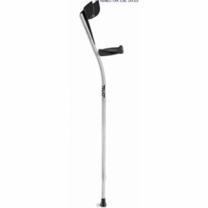 Lets Twist Again Crutches - Silver/Black - Pair