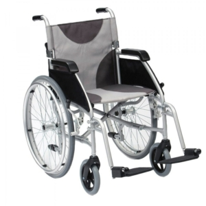 "Ultra Lightweight Aluminium Wheelchair 42cm (17"") Self–Propel"