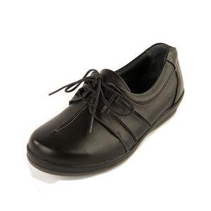 Sandpiper Easham Ladies Shoe Black - Various Sizes