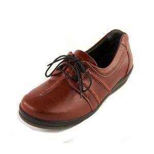 Sandpiper Easham Ladies Shoe Red - Various Sizes