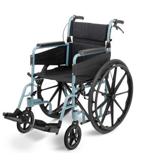 Days Escape Lite Standard Self Propel Wheelchair Silver Blue - 091566249