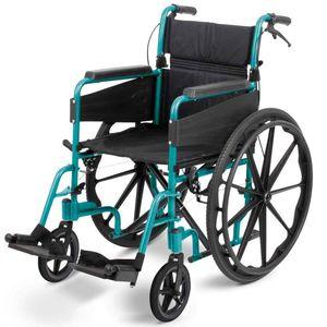 Days Escape Lite Narrow Self Propel Wheelchair Racing Green - 091566306
