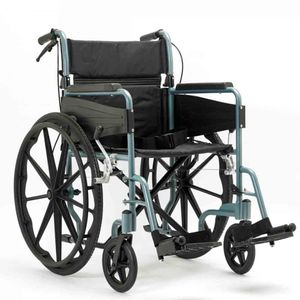 "Days Escape Lite Self-Propelled 20"" Wheelchair in Silver Blue"