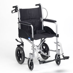 Drive DeVilbiss Expedition EX002 Transit Manual Lightweight Wheelchair - Silver