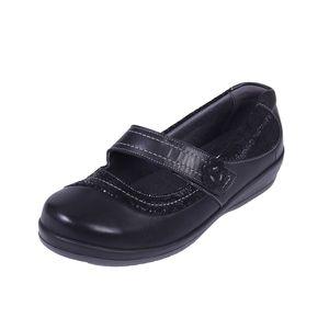 Sandpiper Falmer Ladies Shoe Black/ Print - Various Sizes