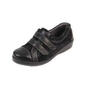 Sandpiper Fargo Ladies Sandal Black /Print  - Various Sizes