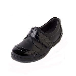 Sandpiper Fenwick Ladies Shoe Black Patent - Various Sizes
