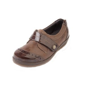 Sandpiper Fenwick Ladies Shoe Brown Patent - Various Sizes