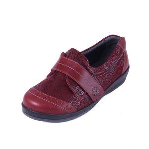 Sandpiper Fenwick Ladies Shoe Cherry Print - Various Sizes