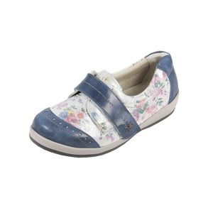 Sandpiper Fenwick Ladies Shoe Royal Floral - Various Sizes
