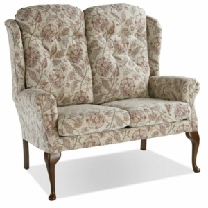 Warwick Queen Anne Two Seater High Settee