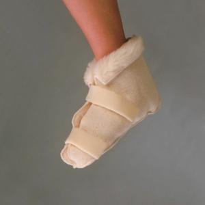 Fleece Open Slippers Large