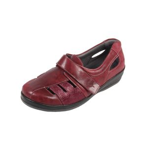 Sandpiper Forton Ladies Shoe Cherry Print - Various Sizes