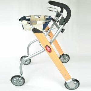 Lets Go Indoor Rollator - Beech/Silver