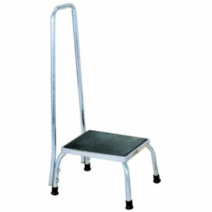 Footstool with Handrail