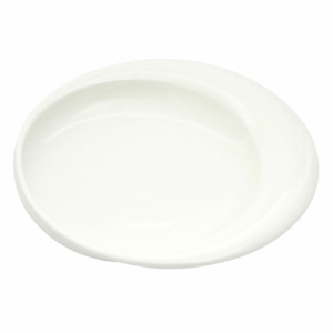 Plate Dignity 23Cm White