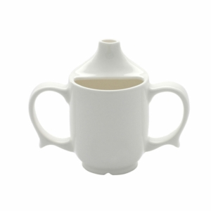 Two Handled Feeder Cup Dignity 15Mm White