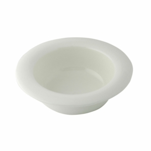Wide Rim Bowl Dignity White