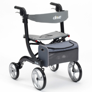 Drive Medical Nitro Rollator - Black