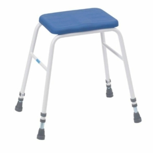 Adjustable Height PU Perching Stool