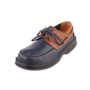 Sandpiper Percy Mens Shoe Navy / Brown - Various Sizes