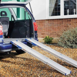 Ultralight Telescopic Ramp