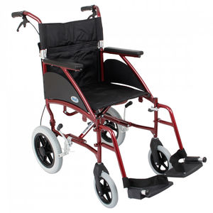Days Swift Attendant-Propelled Wheelchair Burgundy - Various Sizes