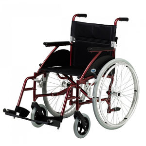 Days Swift Self Propelled Wheelchair Burgundy - Various Sizes
