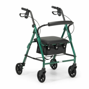 Days 100 Series Lightweight Rollator All Sizes - Racing Green