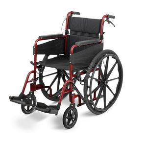 "Days Escape Lite Self Propel Wheelchair 16"" Ruby Red  - 091566298"