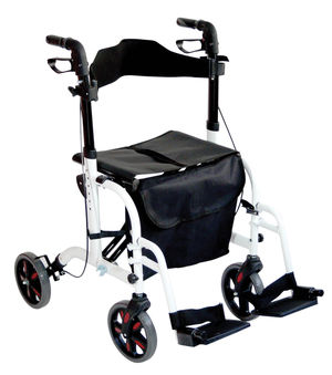 Duo Deluxe Rollator and Transit Chair in One - Multiple Colours