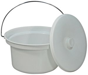 Aidapt 5 Litre Commode Bucket and Lid - VS216