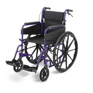 "Days Escape Lite Self-Propelled 20"" Wheelchair Purple - 7500092"