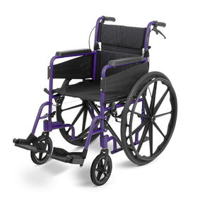 Days Escape Lite Narrow Self Propel Wheelchair Purple  - 091566314