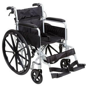 i-Lite Self Propel Wheelchair Silver - IM-9094S