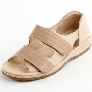 Sandpiper Ladies Shoes - Cheryl Stone/Beige