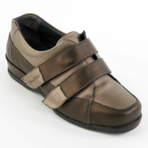 Sandpiper Ladies Shoes - Wested Bronze/Pewter