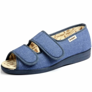 Sandpiper Ladies Slippers - Dora Denim
