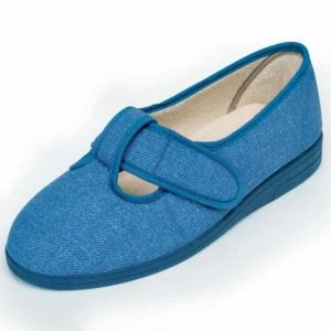 Sandpiper Ladies Slippers - Tracy Denim