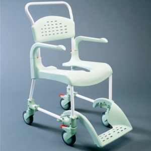 Clean Shower Commode Chair