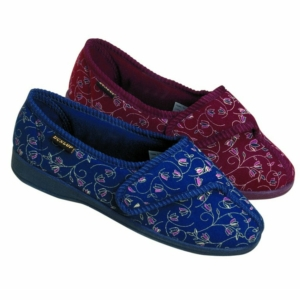 Ladies Slipper - Bluebell Blue