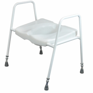Toilet Frame With Raised Toilet Seat Freestanding 499