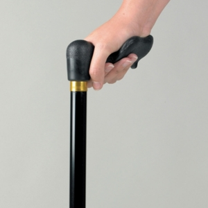 Walking Stick, Comfy Grip, Right Hand, Black (Aa8118R)
